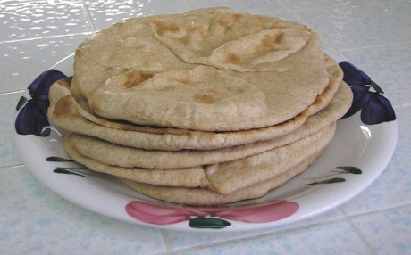 Sourdough Pitas
