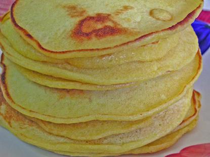 Orange Sourdough Pancakes