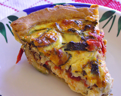 Sourdough Quiche Slice