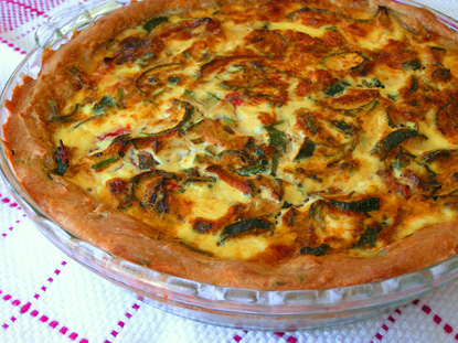 Sourdough Quiche